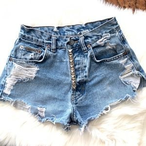 90's Vintage Calvin Klein High Rise Bling Jeans 3